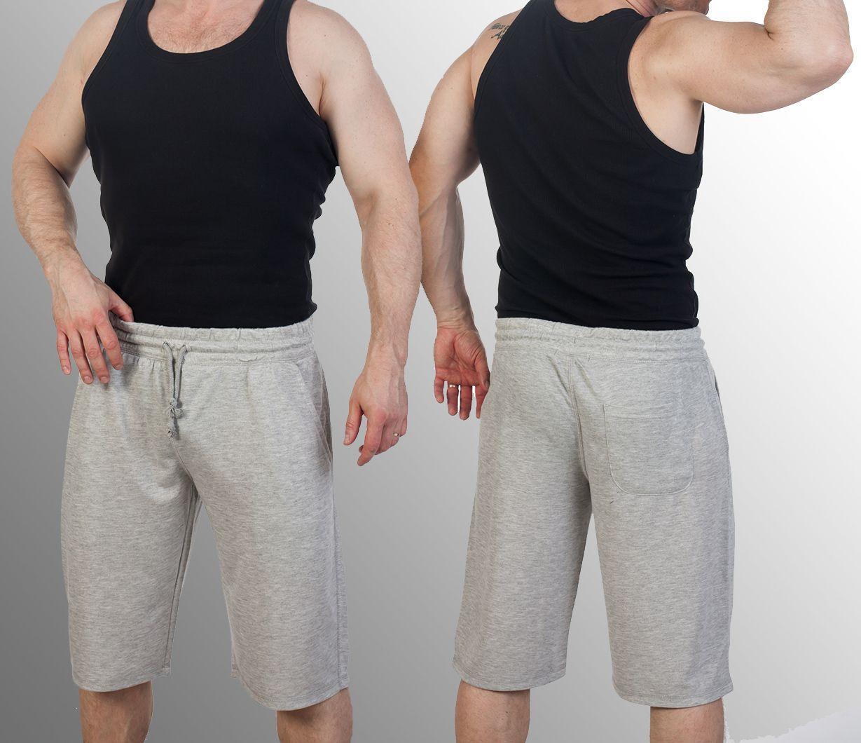 Заказать трикотажные светлые шорты