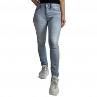 Женские светлые слим джинсы
