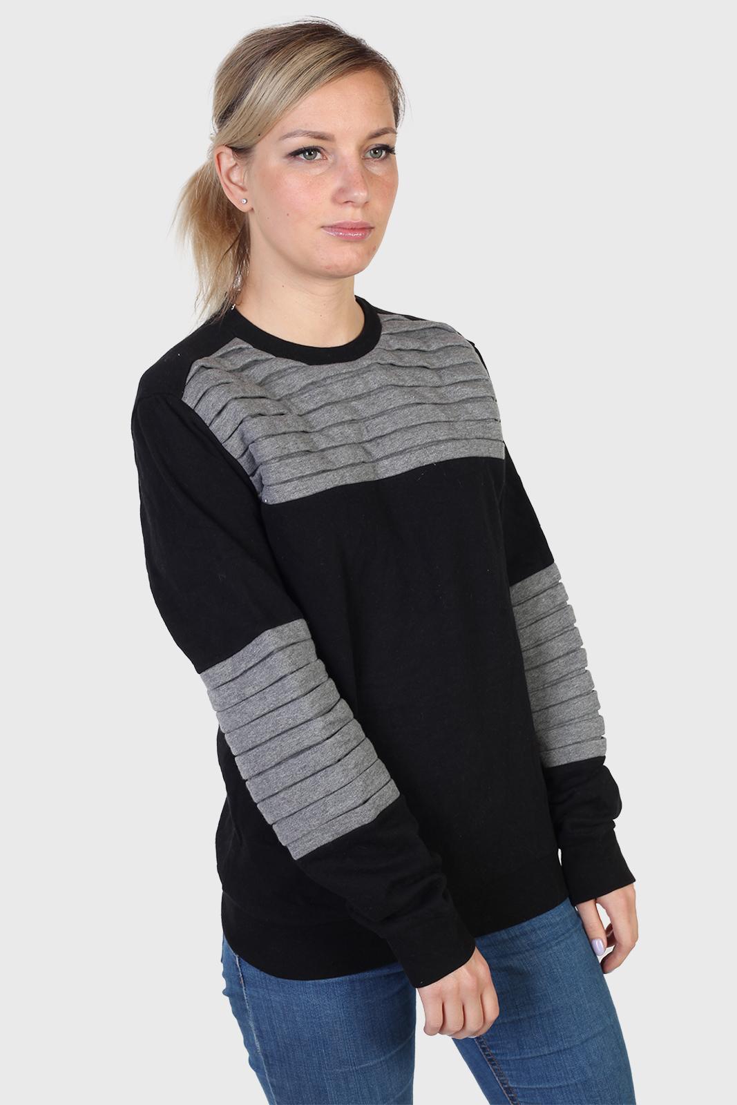 Объемный женский свитер CoolCat
