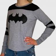 Женский молодежный свитшот с принтом Batman