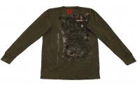Свитшот  Rock&Roll CowBoy независимого мужчины из натуральной ткани