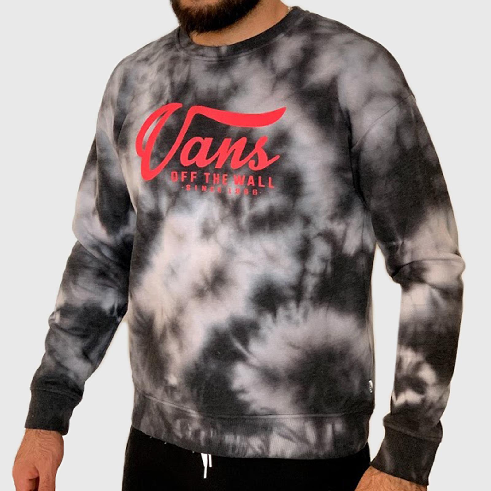 Эффектный мужской свитшот Vans