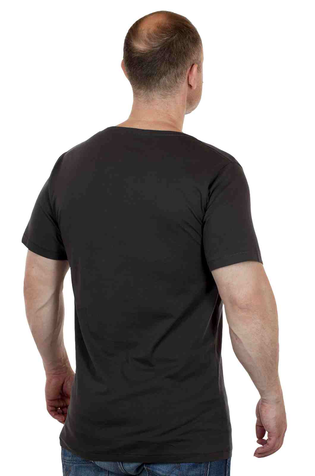 Свободная футболка для спортивных парней ARTICLE-сзади