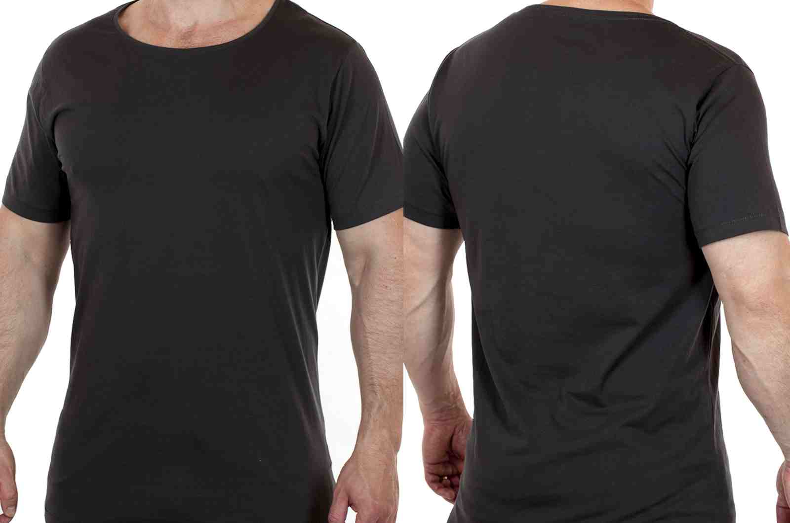 Свободная футболка для спортивных парней ARTICLE-двойной ракурс