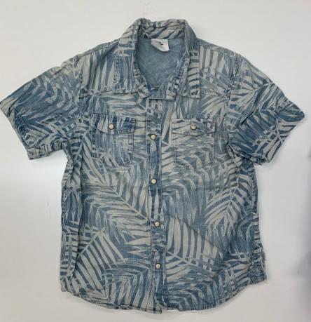 Свободная лёгкая рубашка для мальчиков