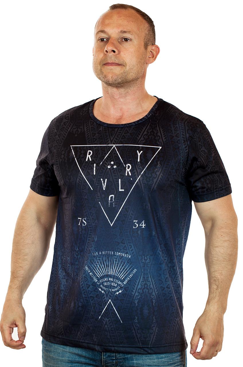 Мужские футболки с модными узорами