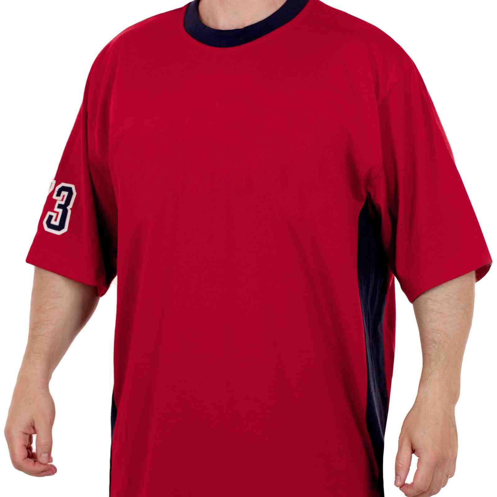 Свободная спортивная футболка для мужчин