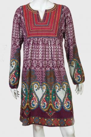 Свободное симпатичное женское платье от Pacme