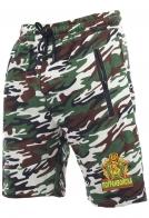 Свободные армейские шорты с карманами и нашивкой Погранвойска