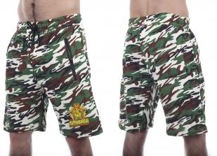 Свободные армейские шорты с карманами и нашивкой Погранвойска - купить с доставкой