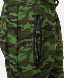 Свободные шорты комфортного фасона с нашивкой РХБЗ - купить с доставкой