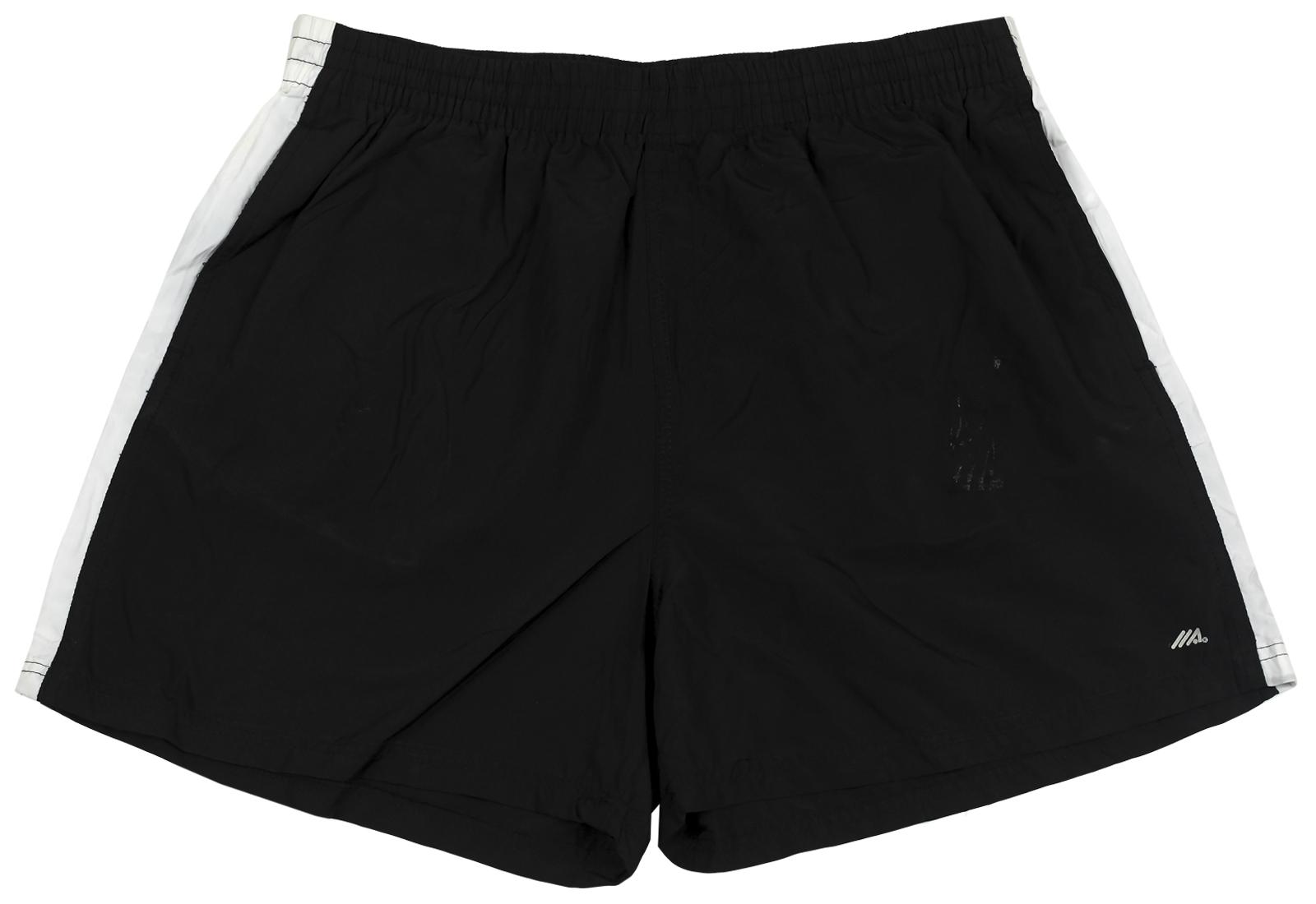 Свободные шорты Llace. Черный цвет с белой полоской