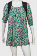 Свободное платье-туника.
