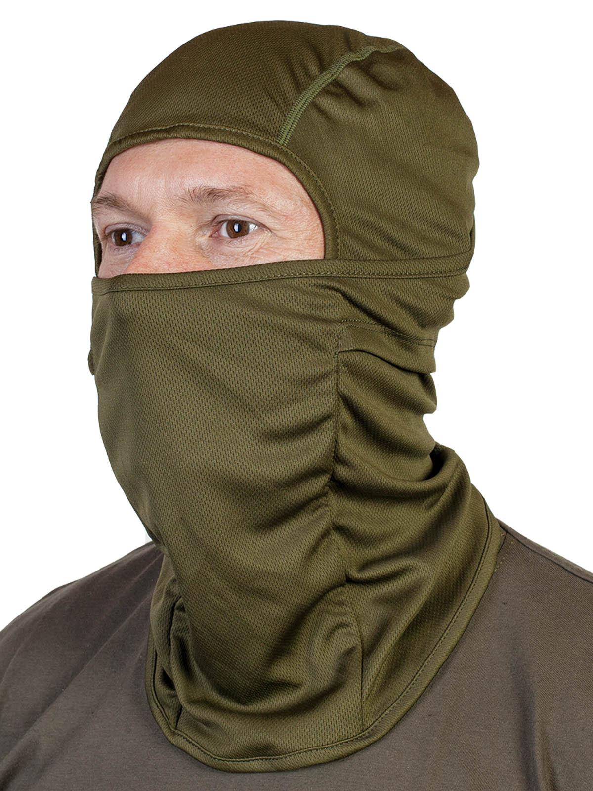Трикотажная маска балаклава на лицо – низкая цена, выносливый материал