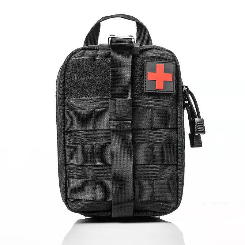 Тактическая аптечка первой помощи (черная)