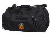 Тактическая большая сумка с нашивкой УГРО 08032B Black