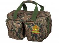 Тактическая дорожная сумка-баул с нашивкой Погранвойск