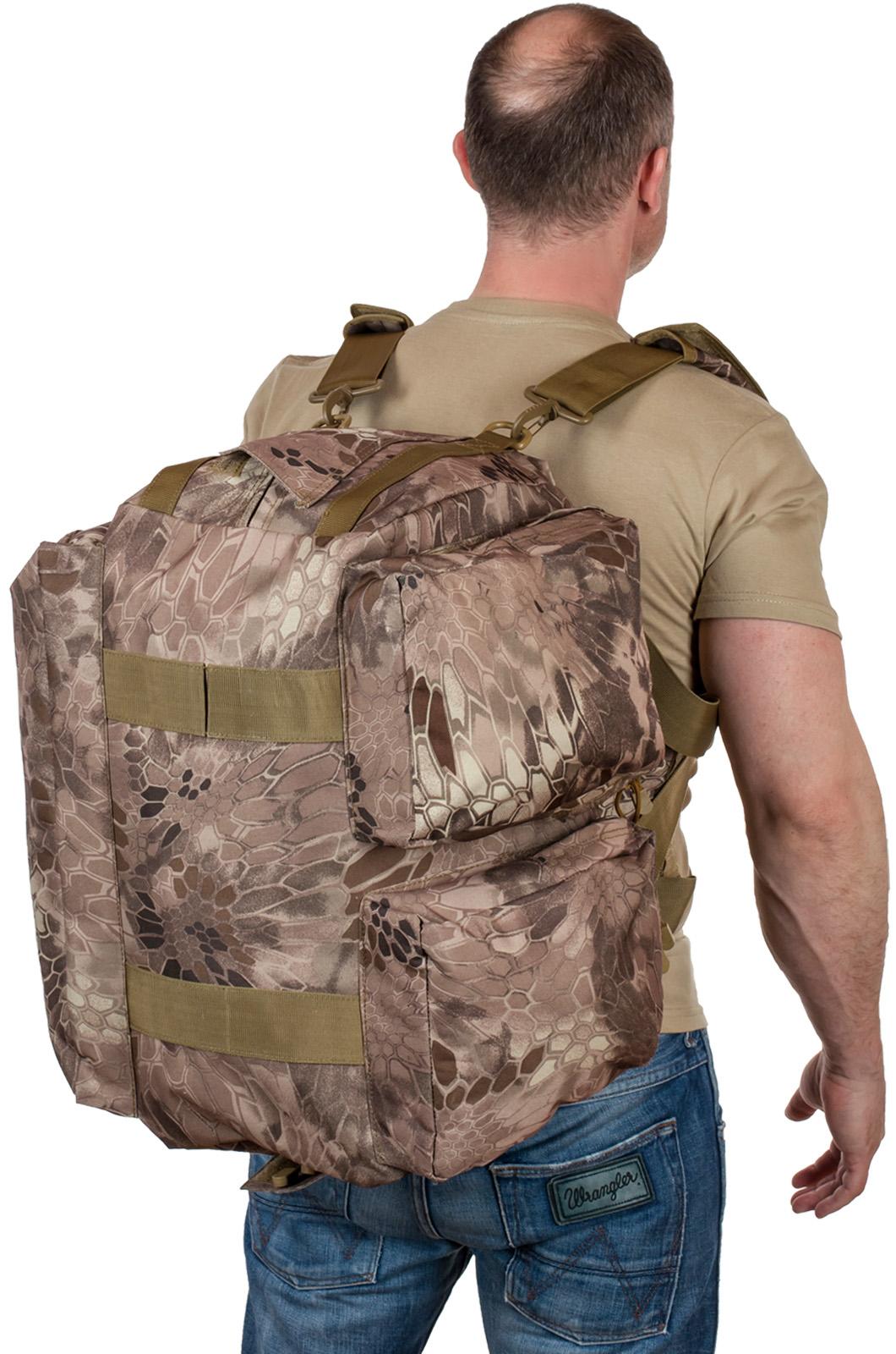 Тактическая дорожная сумка (нашивка Флот России)