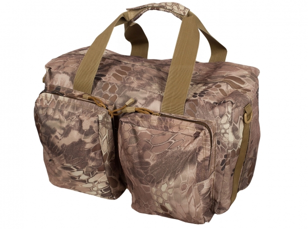 Тактическая дорожная сумка (камуфляж Kryptek Nomad)