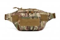 Тактическая камуфляжная поясная сумка MOLLE