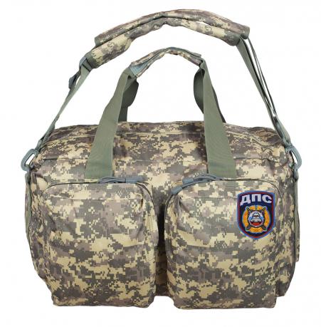 Тактическая камуфляжная сумка-рюкзак с нашивкой ДПС