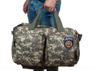 Тактическая камуфляжная сумка-рюкзак с нашивкой ДПС - купить в Военпро