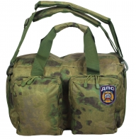 Тактическая камуфляжная сумка с нашивкой ДПС