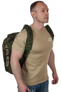 Тактическая камуфляжная сумка с нашивкой Ни пуха, Ни пера - заказать оптом