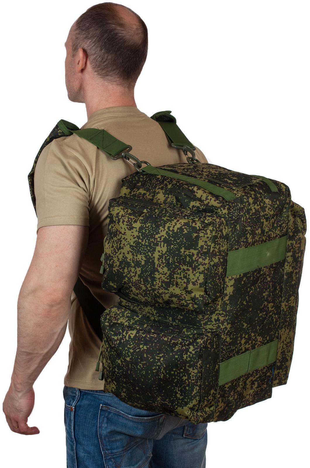 Тактическая камуфляжная сумка с нашивкой Ни пуха, Ни пера - заказать с доставкой