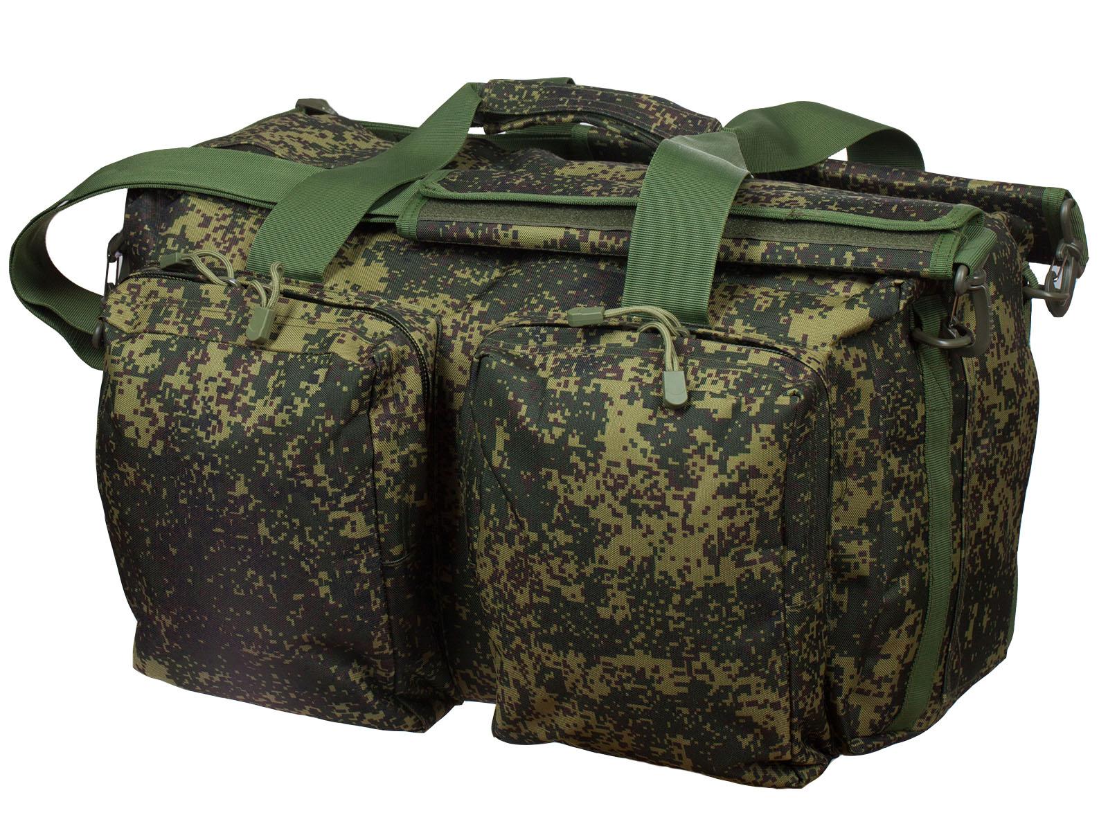 Тактическая камуфляжная сумка с нашивкой Ни пуха, Ни пера - купить оптом