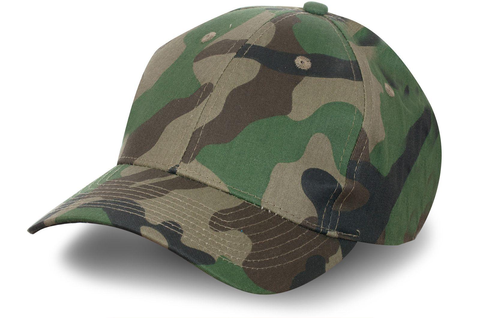 Бейсболка защитного цвета для охоты и рыбалки