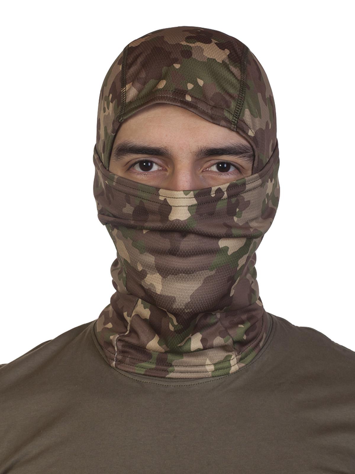 Тактическая маска балаклава камуфляжа CCE Camo