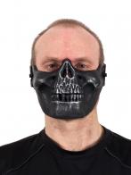 Тактическая маска-череп на пол-лица