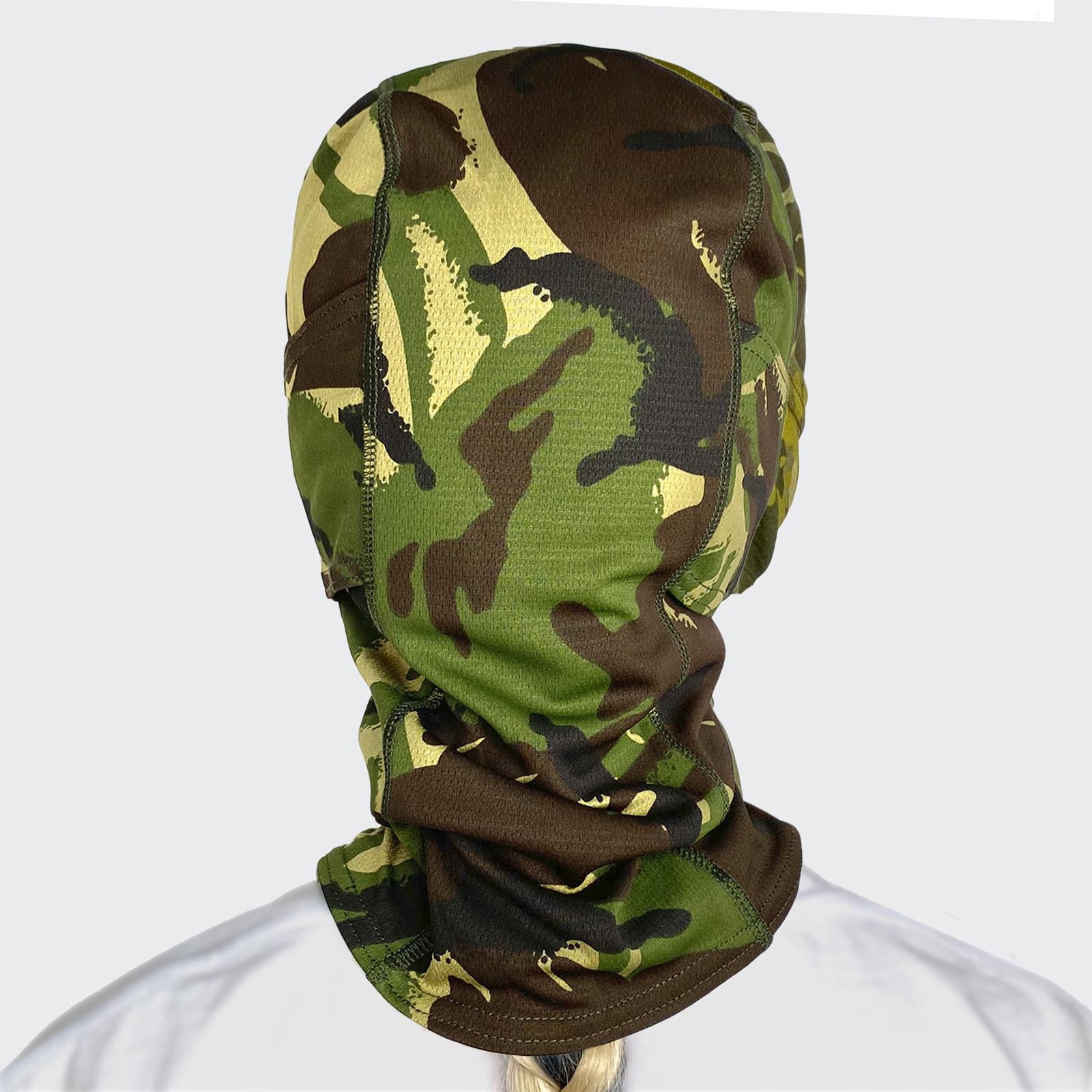 Тактическая маска-подшлемник камуфляжа DPM