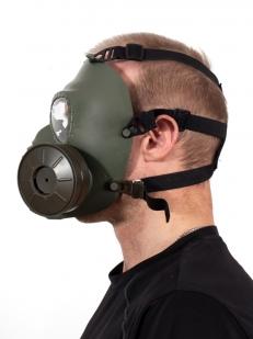 Тактическая маска с респиратором