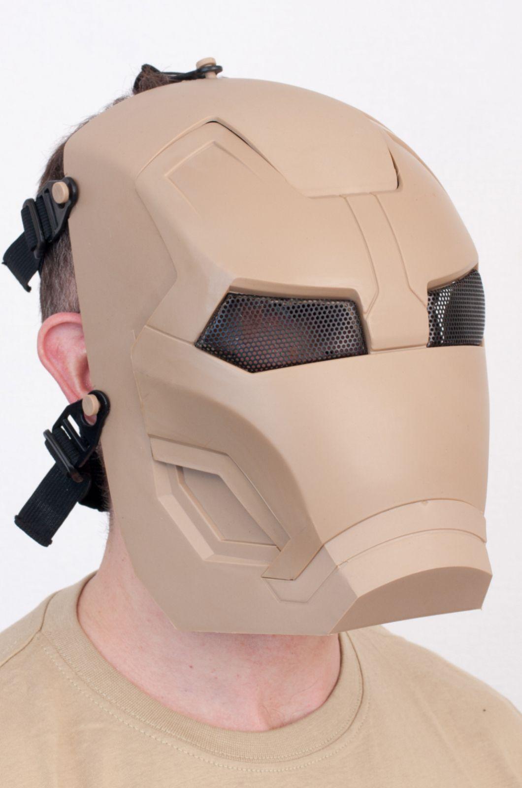 Тактическая маска железного человека по лучшей цене