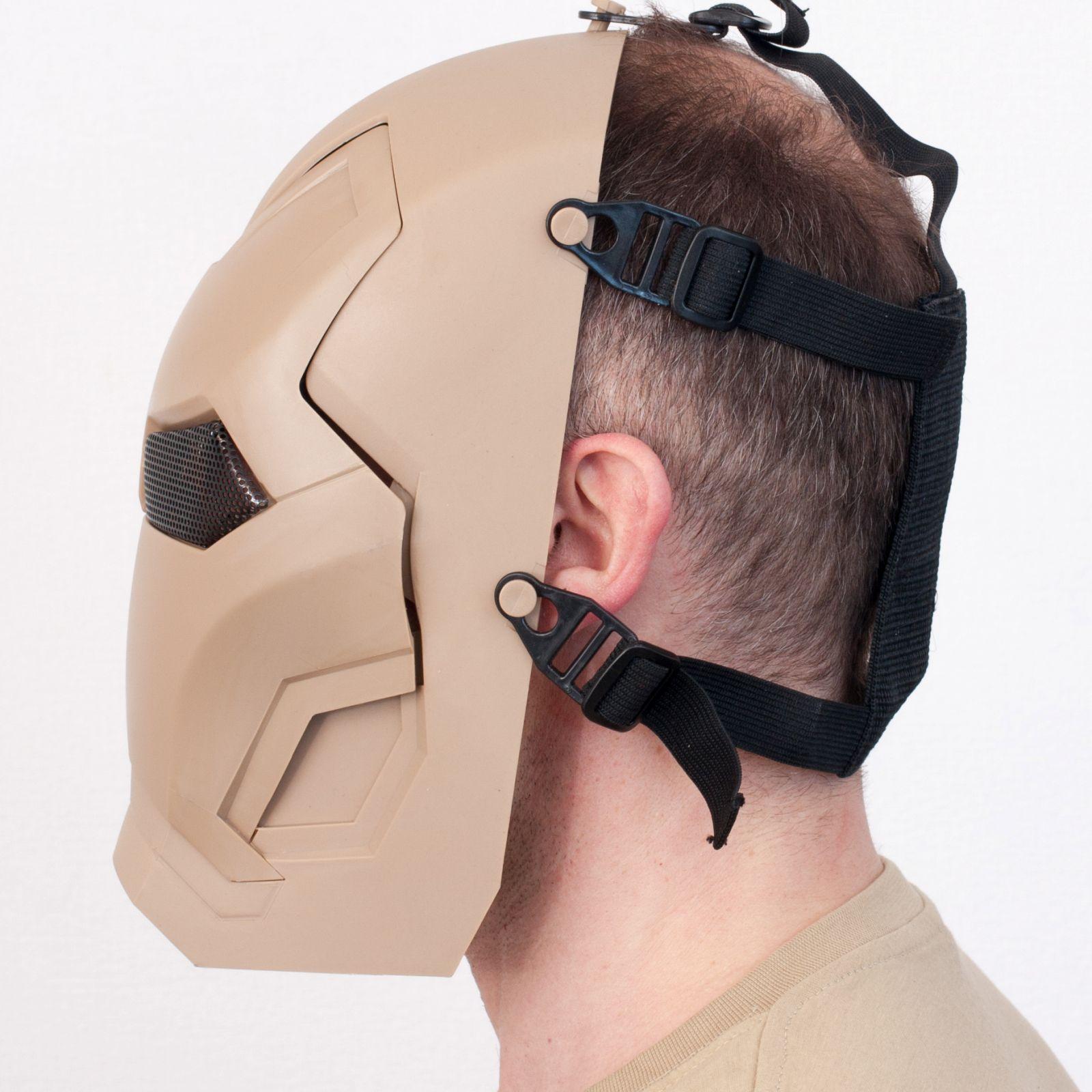 Заказать тактическую маску железного человека