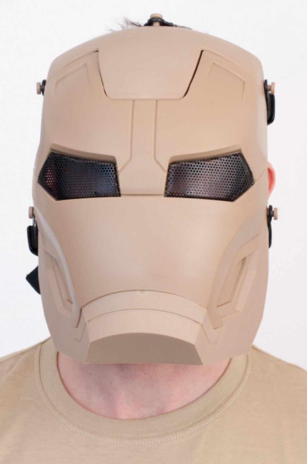 Тактическая маска железного человека