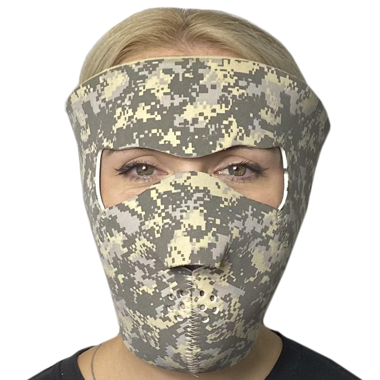 Тактическая медицинская полнолицевая маска Skulskinz Acupat