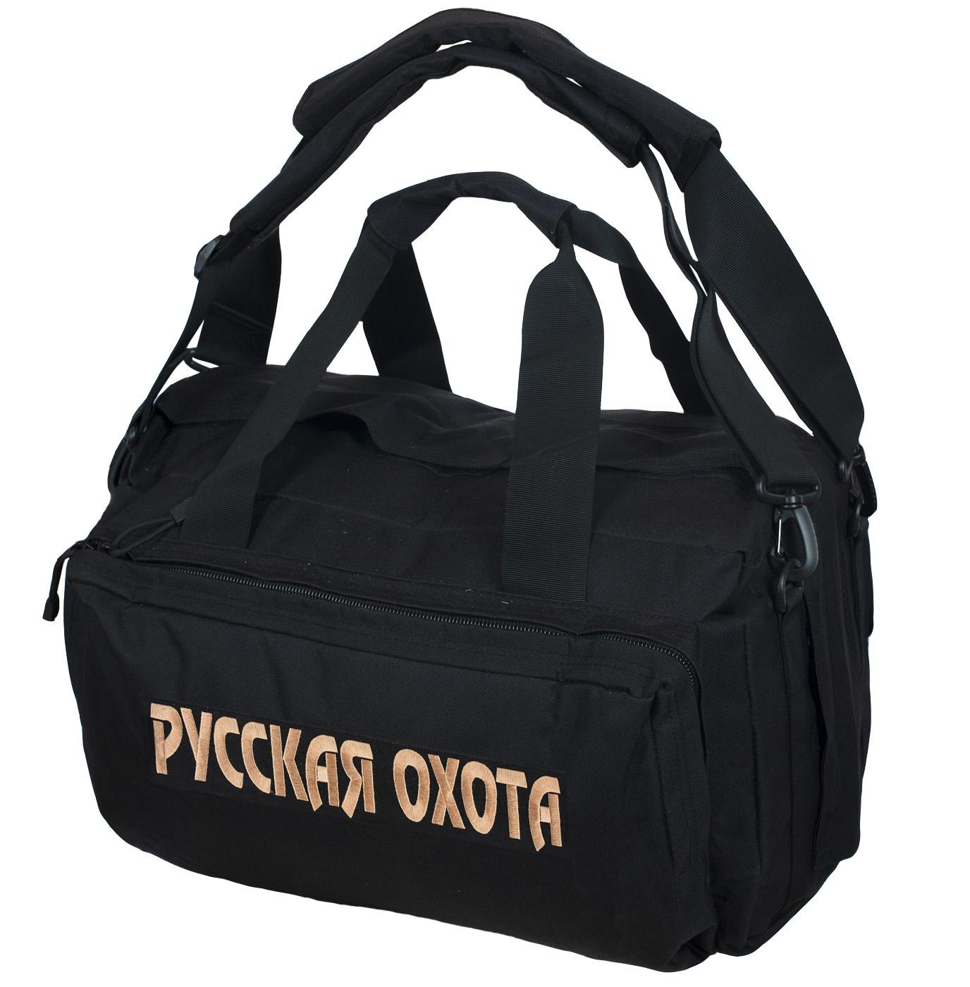 Тактическая надежная сумка-баул Русская Охота - купить онлайн
