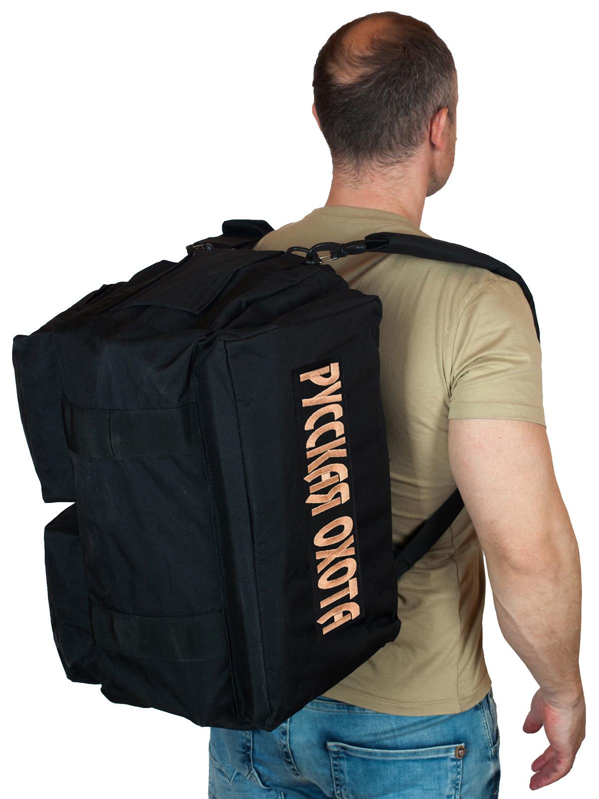 Купить тактическую надежную сумку-баул Русская Охота по экономичной цене