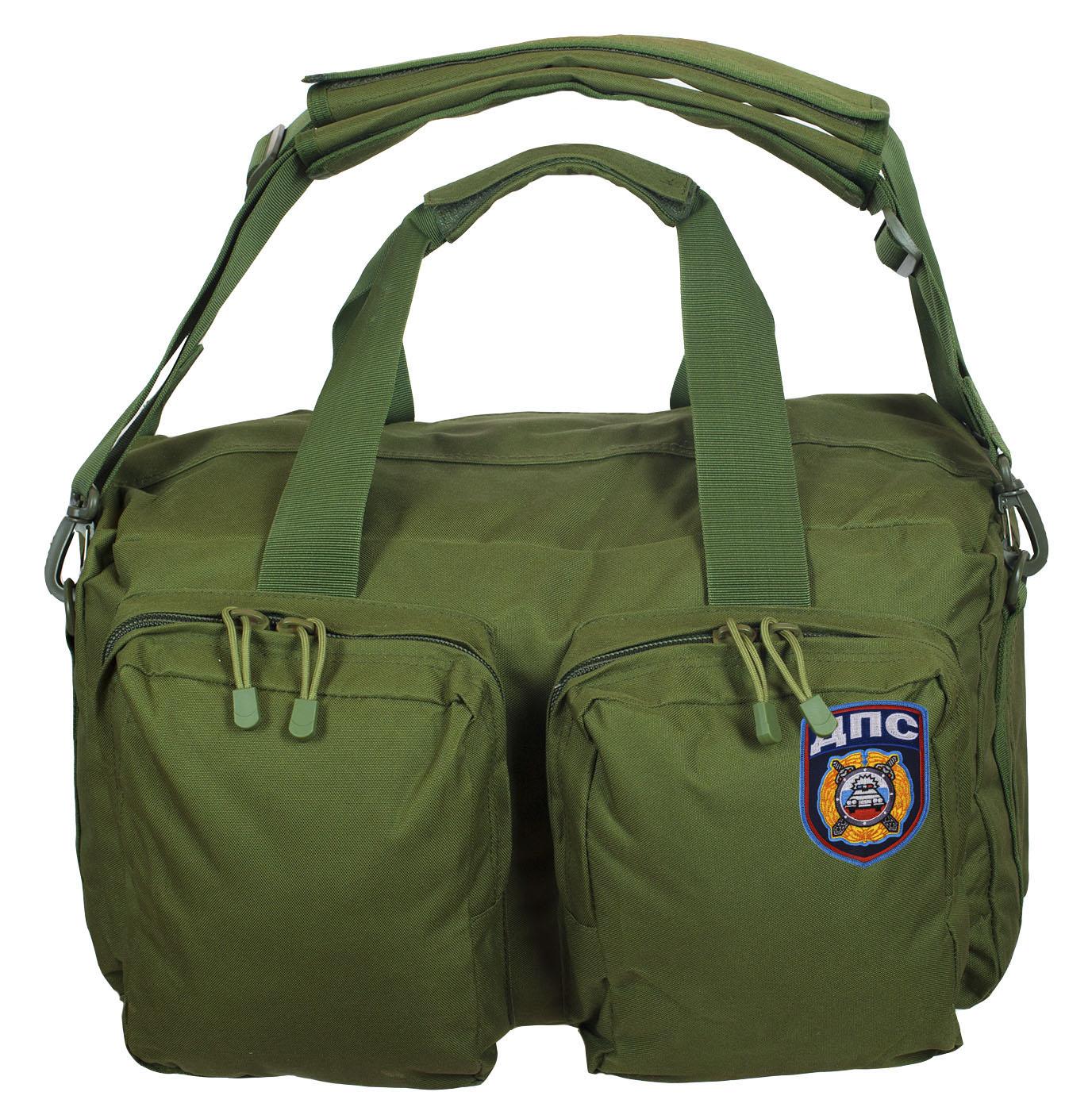 Тактическая походная сумка-рюкзак с нашивкой ДПС