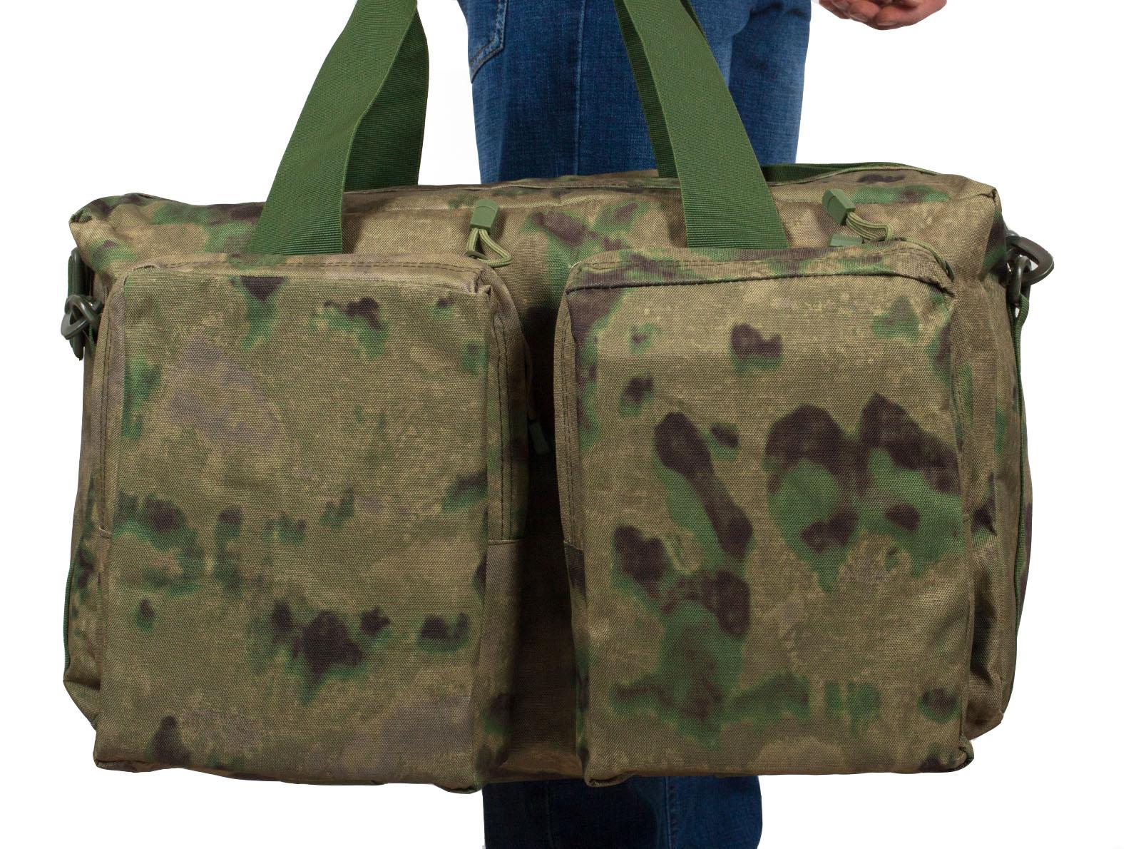 Тактическая походная сумка с нашивкой Ни пуха, Ни пера - заказать оптом