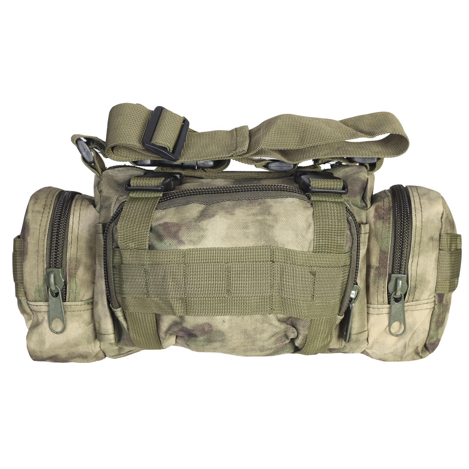Тактическая поясная сумка с наплечным ремнём