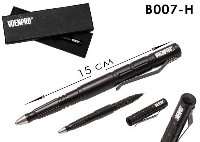 Тактическая ручка LAIX В007 черная-общий вид