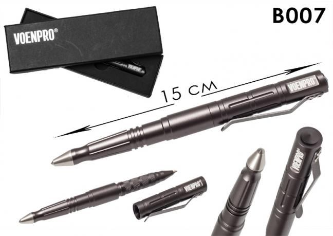 ТТактическая ручка куботан LAIX В007 серая