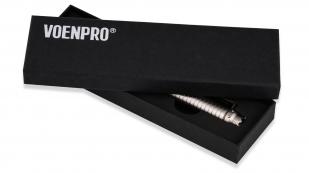 Тактическая ручка со стеклобоем UZI серая