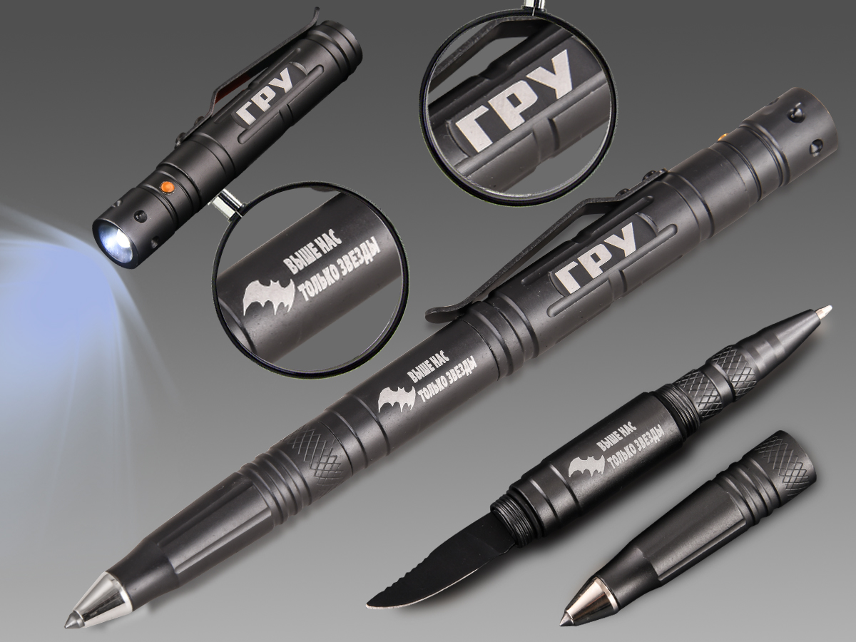 Недорогие тактические ручки в дизайне ГРУ