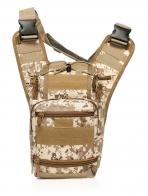 Тактическая сумка через плечо для камеры