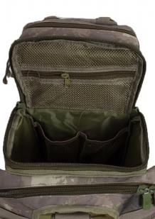 Тактическая сумка через плечо камуфляж A-TACS